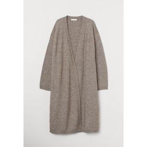 H&M Beige Knit Cardigan